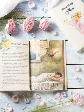 Biblia dla Dzieci na Chrzest Komunię z indywidualnym nadrukiem