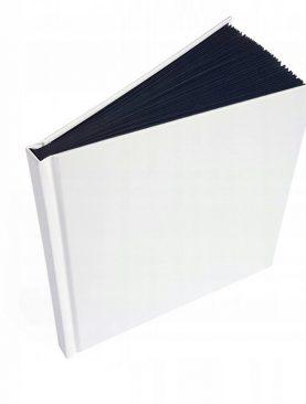 Księga gości czarne kartki BAZA soft karty ALBUM
