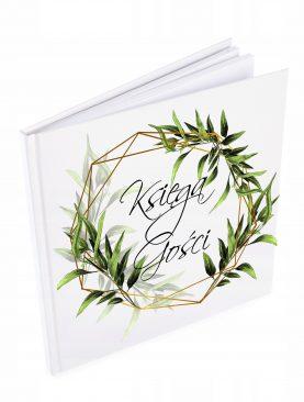 Księga gości białe kartki Ślubna Komunijna Chrzest